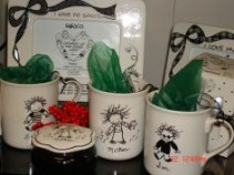 Marci gifts Mugs, frames, trinket boxes,