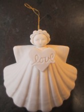 Margaret Furlong Angels ornaments