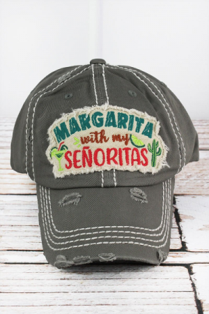 Margarita with my Senoritas Hat