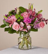 Mariposa Premium Clear Vase