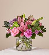 Mariposa Standard Clear Vase