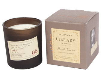 Mark Twain Library Candle