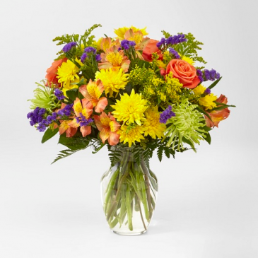 Marmalade Skies Bouquet C5374 - Deluxe shown
