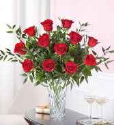 Marquis by Waterford Premium Dz. Roses  in Cleveland, Texas | EASY STREET FLORIST