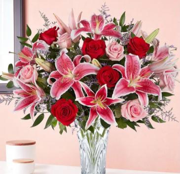 Marquis by Waterford Rose & Lily Bouquet