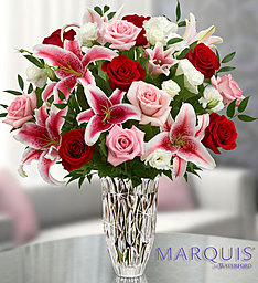 Marquis by Waterford vase design in Tampa, FL | BAY BOUQUET FLORAL STUDIO