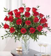 Marquis Two Dozen Red Roses Premium Red Rose Arrangement