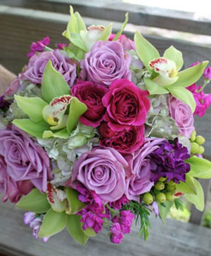 Marry Mauve Bouquet in Hartshorne, OK | Bar-B Flowers & Gifts