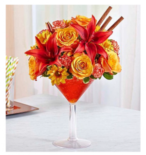 MARTINI BOUQUET™ PUMPKIN SPICE  in Saint Cloud, FL | Bella Rosa Florist