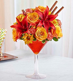 Martini Bouquet™ Pumpkin Spice Fall in Valley City, OH | HILL HAVEN FLORIST & GREENHOUSE