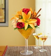 Martini Bouquet Pumpking Spice