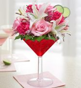 Martini Time Flower Arrangement