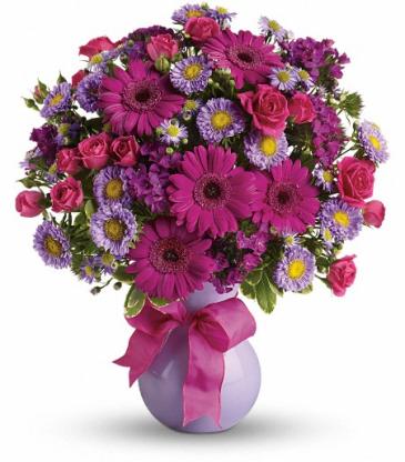Marvelous Mauve bouquet