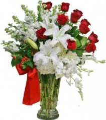Filled With Love Arrangement of Flowers