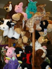 Mary Meyer soft cuddly stuffed animals