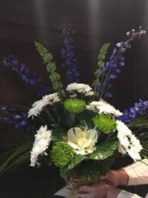 Masculine Farewell Sympathy Basket