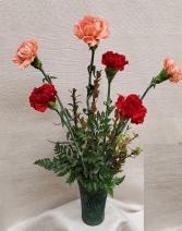Masculine Mix of Carnations Bouquet