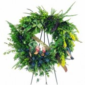 Masculine Wreath 3C Floral Collection