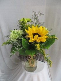 Mason Dixon Fresh Vased Arrangement