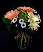 Mason Jar Bouquet Mixed  Floral With