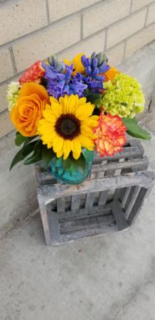 mason jar filled with sunshine