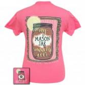 Mason Jar Girlie Girl T-shirt