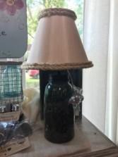 Mason Jar Lamp Gift