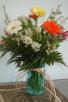 Vintage Floral Fresh Arrangement