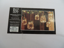 Mason Jar Remote LED Lights Set of 10