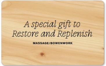 Massage Gift Card Massage
