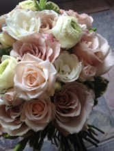 Massed Roses Handtied Bouquet