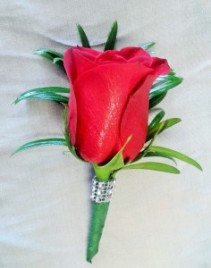 Masterful Elegance Boutonniere