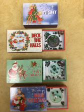 Match box Music boxes $25.00 out of silent night