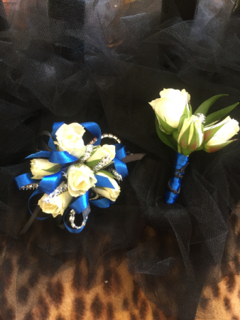 Matching Pair Corsage and Bout