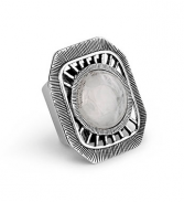 Matte Silver Adjustable Ring