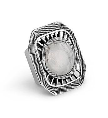 Matte Silver Adjustable Ring Gift Shop