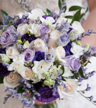 Mauve and Cream Bridal (see notes for photo Credit Wedding