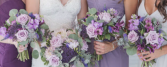Mauve & Purple Inspiration  Wedding Party