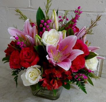 Cupid's Arrow Vase Arrangement