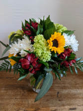 May Showers Bouquet Fresh Vase Arrangement