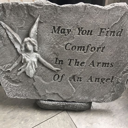 May you find Comfort in the Arms of an Angel