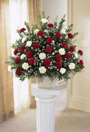 MAY YOU REST Funeral flowers