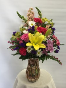 MD 3 Marbled Vase