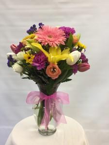 MD5 Gathered Vase Bouquet in San Antonio, TX | PETAL PALACE
