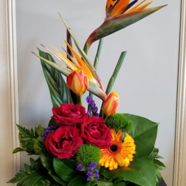 MDF-18 Flower Arrangement