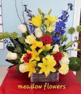 meadow flowers farm box