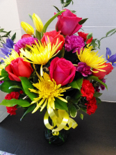 Meadow Fresh Birthday Arrangement