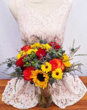 Meadow Majesty Wedding Bouquet