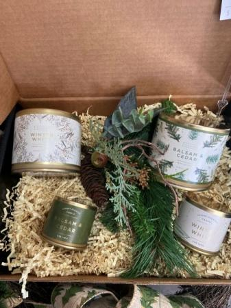 Meadow Thistle small candle  Gift