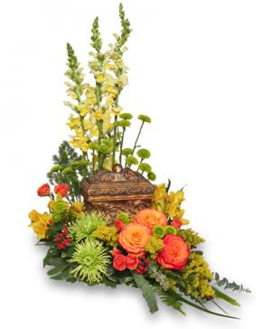 Meaningful Memorial  Cremation Arrangement  (urn not included)  in Richland, WA | ARLENE'S FLOWERS AND GIFTS